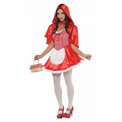 Halloween For Tweens (Little Red Riding Hood Halloween Costume for Girls Large 12 14 teen)