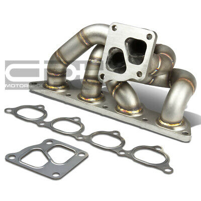 Fit 05-06 Mit Evo 7/8/9 4G93T Td05 Cast Stainless Steel Turbo Manifold Exhaust for sale  Shipping to South Africa