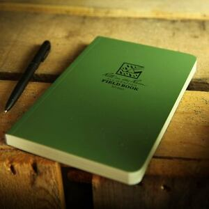 Rite in the Rain 980 Waterproof Paper Notepad Tactical Field Book Notebook Green
