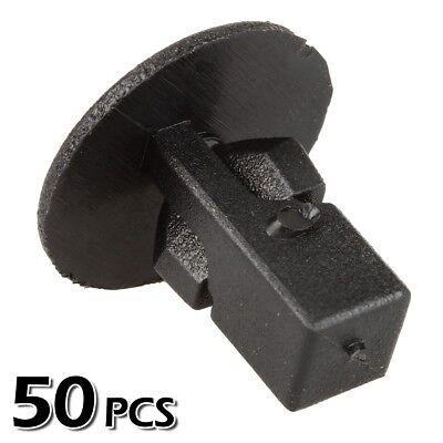 50pcs Bumper Fender Hood Panel Screw Grommet Clips Fastener for Toyota Sequoia