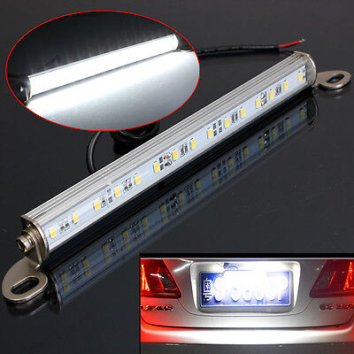 Universal 12v LED License Number Plate Light Car Van Truck Trailer Xenon White