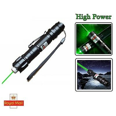 Powerful Green Laser Pointer Pen Visible Beam Light 1mW Lazer 532nm High Power