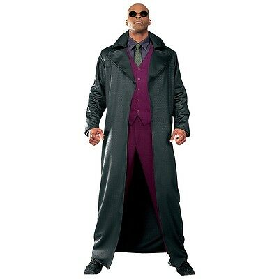Morpheus Costume Adult The Matrix Halloween Fancy Dress - Morpheus Matrix Halloween Costumes