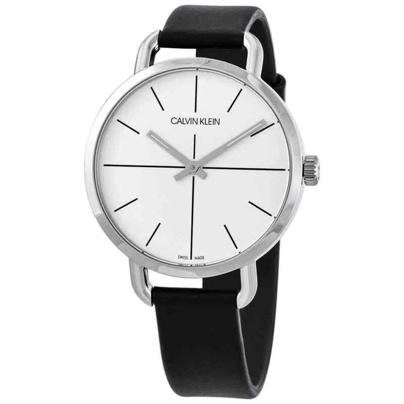 Calvin Klein Even Quartz Silver Dial Ladies Watch K7B231CY