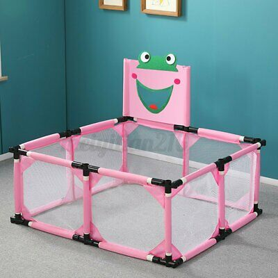 8 Sided Baby Playpen Fence Play Yard Activity Center Folding