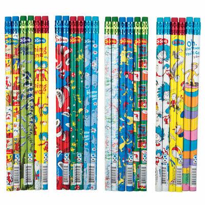 Geddes Dr. Seuss 2 Pencils - Box Of 72 Assorted Designs
