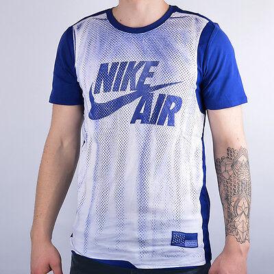 Nike Jersey Tee NEW men 742746-101 blue white