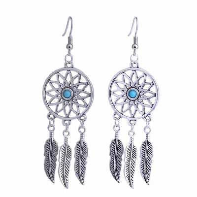 925 Sterling Silver Dream Catcher Turquoise Vintage Style 3