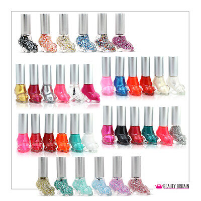 12 x Shoes Shaped Nail Polish Set 12 Different Colours WHOLESALE THE BEST GIFT
