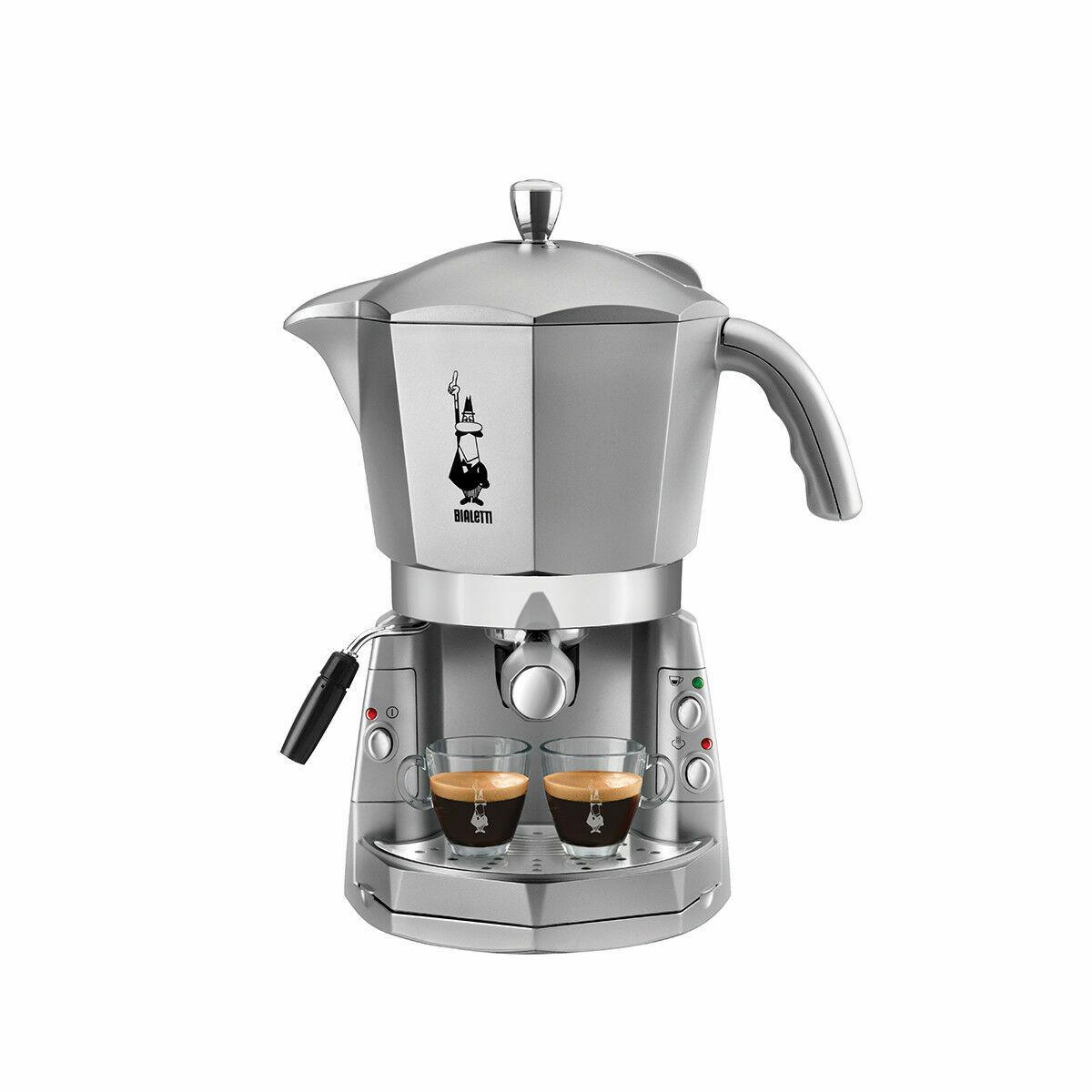 BIALETTI | CF40 Mokona Macchina da Caffè Trivalente Cialde Capsule o Macinato
