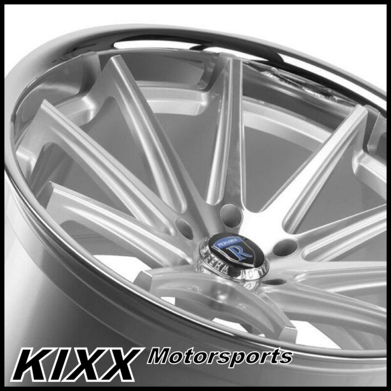 "20"" Rohana Rc10 20x9/10 Silver Concave Wheels For Mercedes W220 S430 S500 S55"