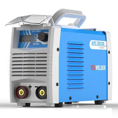 125 Amp Stick Arc Mma Dc Inverter Welder 110220v Dual Voltage Welding Machine