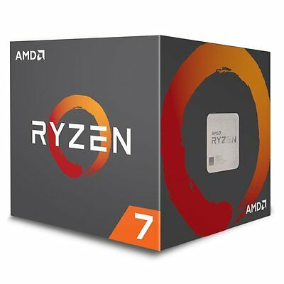 NEW AMD RYZEN 7 1700 8-Core Processor 3.0~3.7GHz  AM4 65W YD1700BBAEBOX