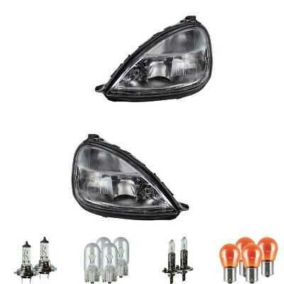 Halogen Scheinwerfer Set H1 für Mercedes-Benz A-Klasse inklusive Lampen