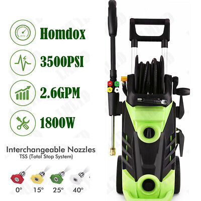 3500PSI 2.6GPM Electric Pressure Washer High Power Auto Jet Cleaner Machine - Pressure Cleaner