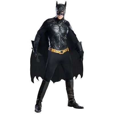 BATMAN THE DARK KNIGHT Adult Halloween Costume Movie Collection Grand Heritage - Batman Grand Heritage Costume