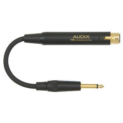 (Audix T-50K Inline Impedance Microphone Matching Transformer XLR to 1/4