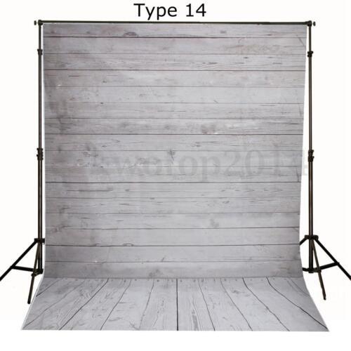 Vintage 5x7FT Vinyl Studio Photography Backdrop Brick Wall Floor Background Prop