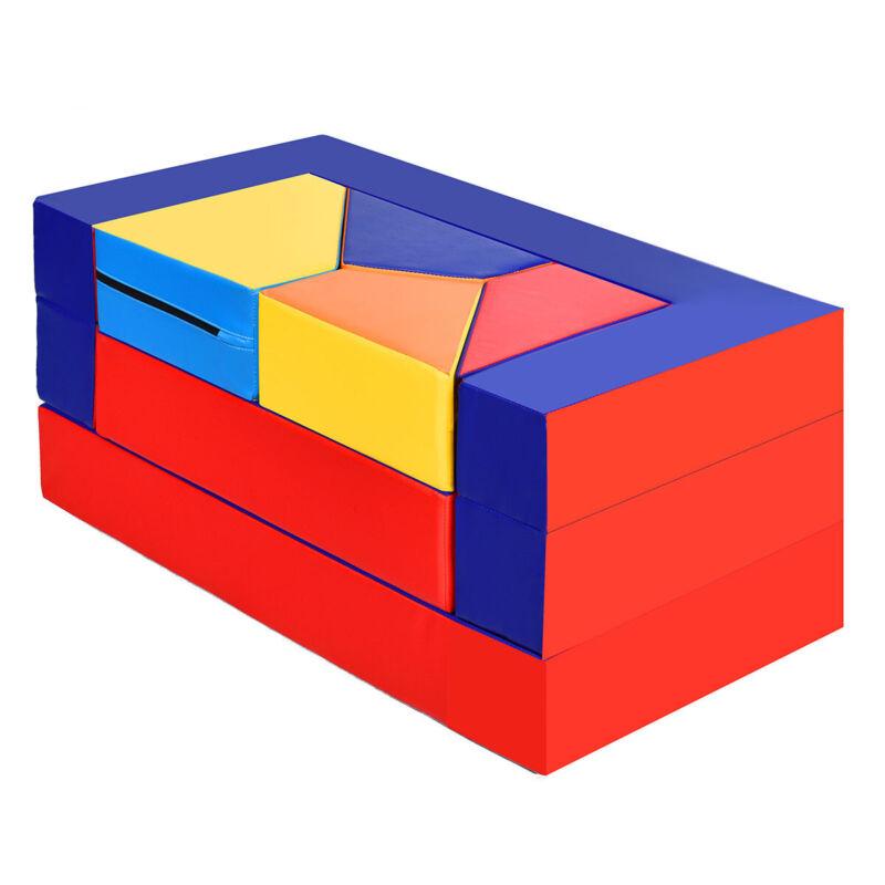 4-in-1 Crawl Climb Foam Shapes Play Set Softzone Toy Toddler Preschoolers Kids