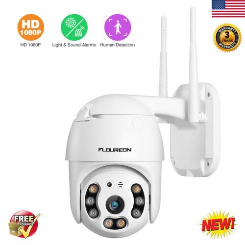 1080P HD Wireless IP Camera Dual Light WiFi Security 2-Way A