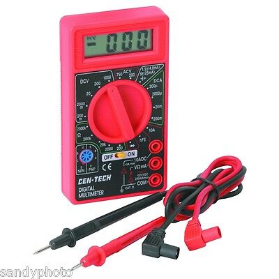 Multi Tester Meter For Tube Guitar Amp Bias Resistance Diodes Battery Voltage