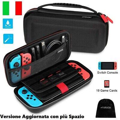 Custodia per Nintendo Switch, Cover Guscio Compatibile per Console e Accessori