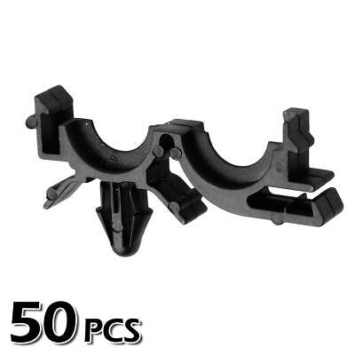 50x Nylon Wire Loom Routing Split Harness Conduit Clip for Buick LeSabre 00-02