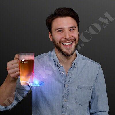 16OZ. COWBOY BOOT LIGHT UP DRINKING MUG CUP FLASHING DRINKS FUN~ - Cowboy Boot Cups