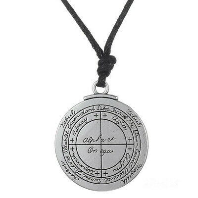 Talisman Solomon Seal Pendant Protection Good Luck Wealth Amulet Necklace Hot