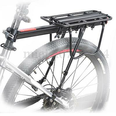 Strong Disc Brake Bicycle Road Bike Alloy Rear Rack Luggage Pannier Reflector