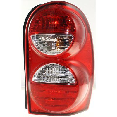 Tail Light Passenger Side wo Guard For 2005 07 Jeep Liberty Exc Renegade Model