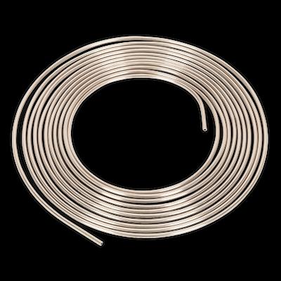 "CNP316 Sealey Brake Pipe Seamless Tube Cupro-Nickel 22 Gauge 3/16"" x 25ft"