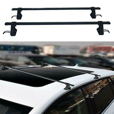 """54"""" Universal Top Roof Rack Cross Bars Luggage For 4 Door Car SUV Truck Jeep"""