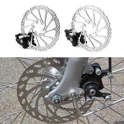 Bike Disc Brake Front & Rear Disc 160 mm Rotor Brake Kit for Mountain -