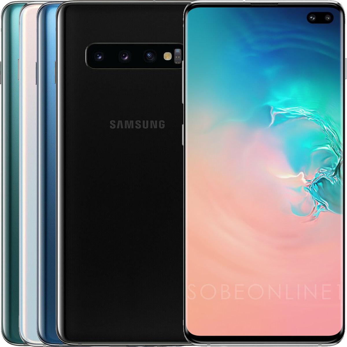 Samsung Galaxy S10+ Plus SM-G975F/DS 128GB 8GB (FACTORY UNLOCKED) 6.4