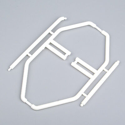 RC 1/10 Model Car Body Interior Roll Cage Wing Mount Boom Racing 00165W White