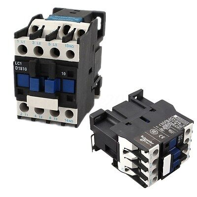 Power Ac Contactor 1no Ac 220v 5060hz Coil Motor Starter Relay 32a 3-phase-pole