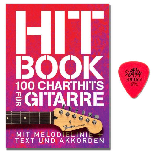 Hit Book - 100 Charthits für Gitarre - Songbook, Plek - BOE7803 - 9783865439109