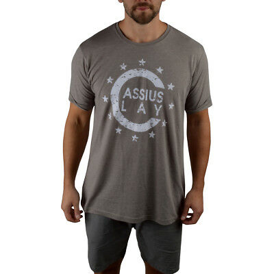 Champ Fitted T-shirt (Title Boxing Cassius Clay '64 Champ Premium Fitted Legacy T-Shirt - Ash Gray)