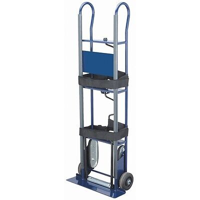 "Hand Truck Dolly Appliance Vending Machine 600 Lb Capacity Heavy Duty 6"" Wheels"