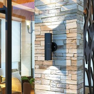 Modern LED Wall Light Sconce Fixture Lamp Steel Patio Industrial Outdoor Indoor