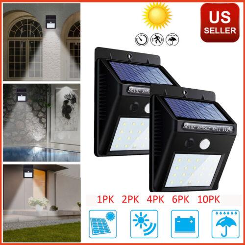 20 led outdoor solar power motion sensor