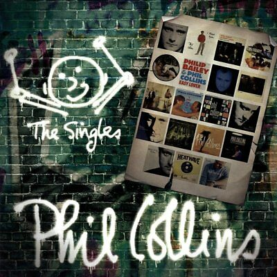 Phil Collins The Singles Double LP NEW 08/06/18