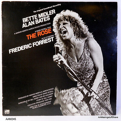 Bette Midler / Alan Bates 'The Rose' LP 33 in VG condition