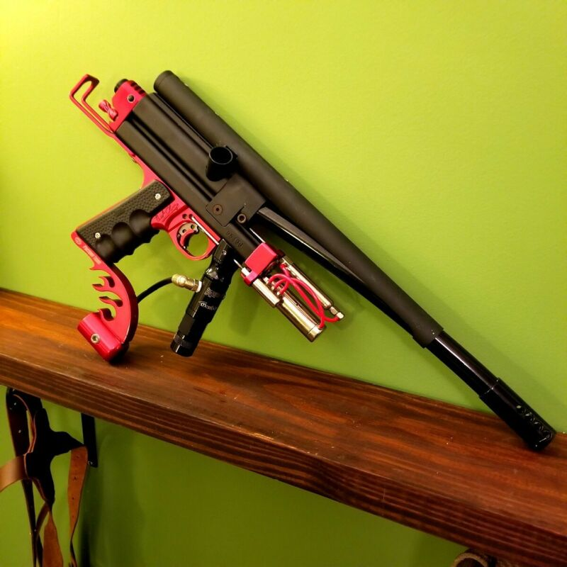 WGP Faltine Autococker Paintball Marker autographed by Bud Orr! EXTREMELY RARE!!