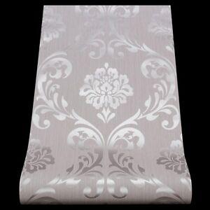 Tapete ORNAMENT Vliesapete P+S 13110-50 1311050 Barock grau silber (1,91€/1qm)