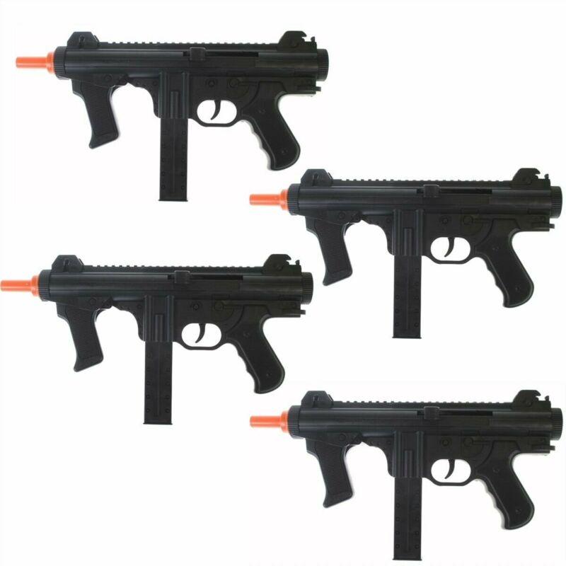 QTY 4: Dark Ops Airsoft Spring Power P1238 Mini SMG Tactical Air Gun Pistol + BB
