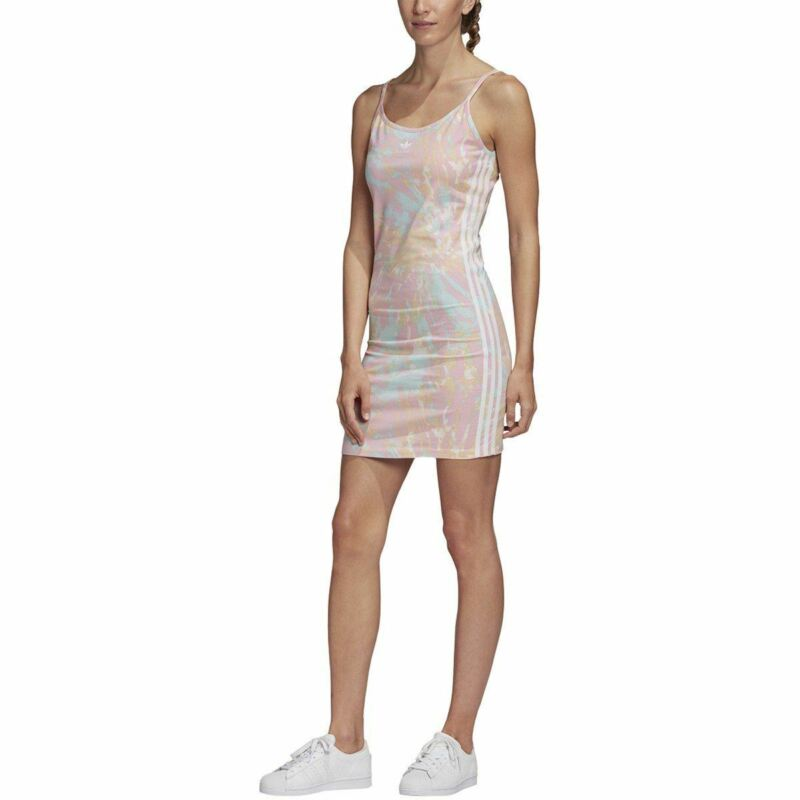 [GL6366] Womens Adidas Originals Tie Dye Tank Dress