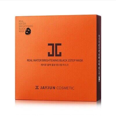 Korea JayJun Refine To Shine Real Water Brightening Black 1STEP Mask 10pcs