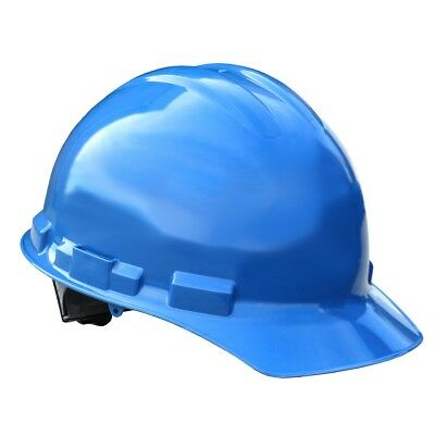 Radians Hard Hat Cap Style With 4 Point Ratchet Suspension Blue